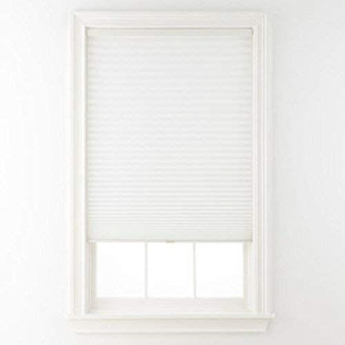 Alexander Cordless Pleated Shade White 34x64