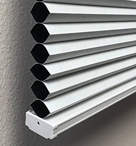 Cotton White, Blackout Cellular / Honeycomb Shades, 26
