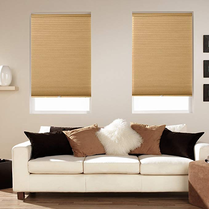 Mirage Cordless Blackout Shade Amber (48x64)