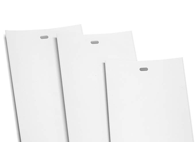 Premium Vinyl PVC Replacement Vertical Vanes (White) 22 Gauge thicker than other brands CHOOSE LENGTH AND QTY (30, 98.5